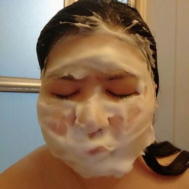 然 よかせっけん(ジャータイプ)/長寿の里/洗顔石鹸を使ったクチコミ(4枚目)