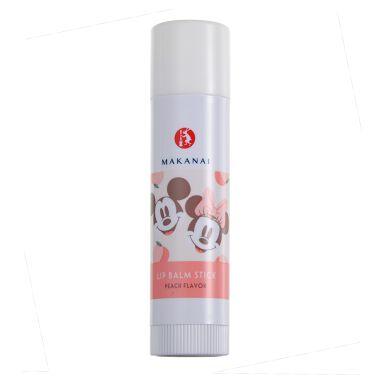 2021/1/8発売 まかないこすめ なめらかリップクリーム ミッキー&ミニーデザインの桃の香り