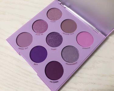 Lilac You A Lot Shadow Palette/ColourPop/パウダーアイシャドウを使ったクチコミ(2枚目)