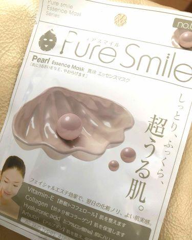 じろうさんの「Pure Smile(ピュアスマイル)真珠エキス<シートマスク・パック>」を含むクチコミ
