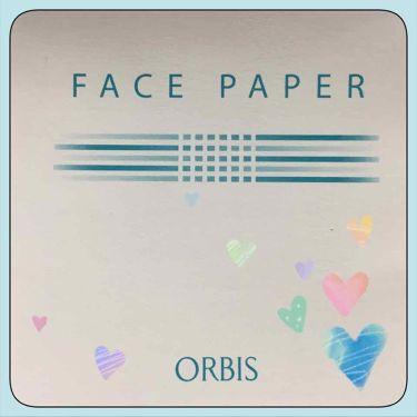 あぶらとり紙/ORBIS/あぶらとり紙 by ( ºωº )