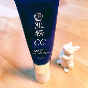 ホワイト CCクリーム/雪肌精/化粧下地を使ったクチコミ(1枚目)