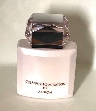 オイルセラム ファンデーション EX/ALBION/リキッドファンデーションを使ったクチコミ(1枚目)