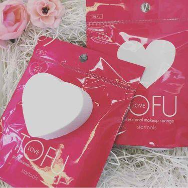 LOVE プロフェッショナル メイクアップ スポンジ/TOFU/パフ・スポンジ by se