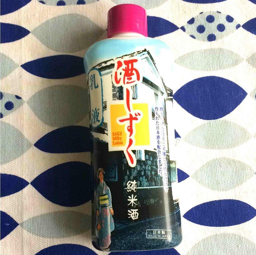 ザ・ダイソー 酒しずく(乳液)