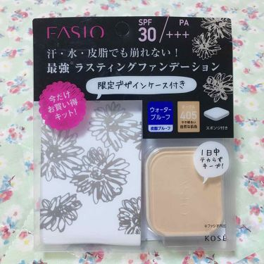 ラスティング ファンデーション WP/FASIO/パウダーファンデーション by メラニー