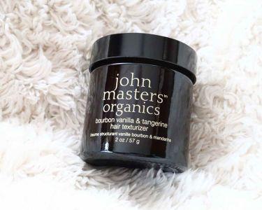 ジョンマスターオーガニックバーボンバニラ&タンジェリン ヘアテクスチャライザー(オールヘア用オーガニックヘアワックス)