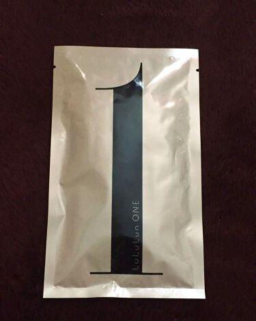 フェイスマスク ルルルン ONE/ルルルン/シートマスク・パックを使ったクチコミ(1枚目)