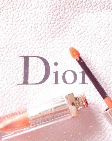 ディオール アディクト フルイド スティック/Dior/リップグロスを使ったクチコミ(1枚目)