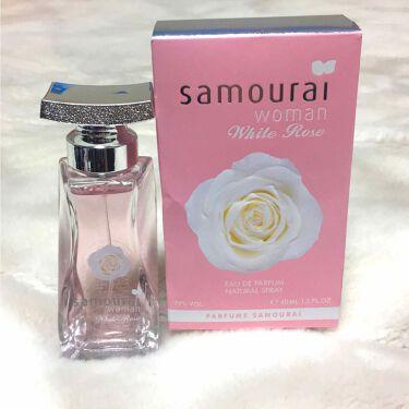 サムライウーマン ホワイトローズEDT/アランドロン/香水(レディース)を使ったクチコミ(1枚目)