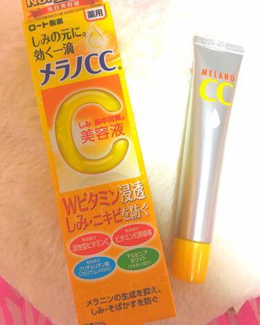 メラノCC 薬用しみ集中対策液(旧)/メンソレータム メラノCC/美容液を使ったクチコミ(1枚目)
