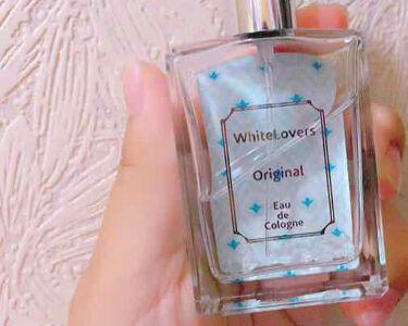 ホワイトラバーズ オーデコロン オリジナル/ラブアンドピースパルファム/香水(レディース)を使ったクチコミ(1枚目)