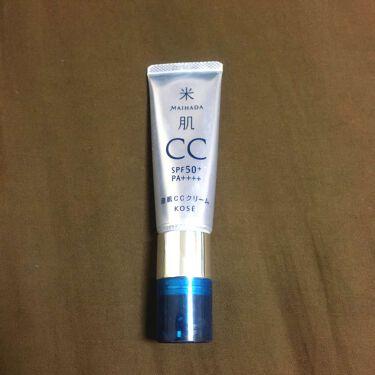 澄肌CCクリーム/米肌/化粧下地を使ったクチコミ(1枚目)