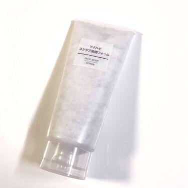 d_uk_s♡ .。.・*さんの「無印良品マイルドスクラブ洗顔フォーム<ゴマージュ・ピーリング>」を含むクチコミ