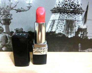 ルージュ ディオール(旧)/Dior/口紅を使ったクチコミ(1枚目)