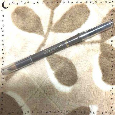 .*.•YURI•.*.さんの「セザンヌブラシ付 アイブロウ<アイブロウペンシル>」を含むクチコミ