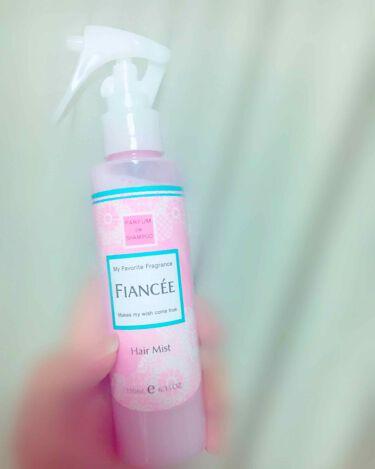 さ く ら さんの「フィアンセフレグランスヘアミスト ピュアシャンプーの香り<プレスタイリング・寝ぐせ直し>」を含むクチコミ