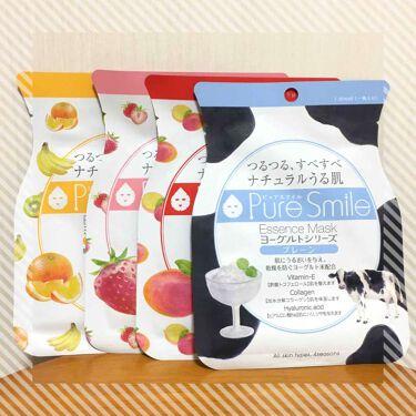 ヨーグルトシリーズ プレーン/Pure Smile/シートマスク・パックを使ったクチコミ(1枚目)
