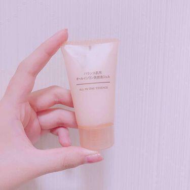 バランス肌用オールインワン美容液ジェル/無印良品/オールインワン化粧品を使ったクチコミ(1枚目)