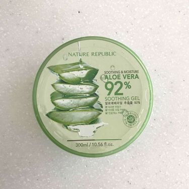 mikaさんの「ネイチャーリパブリック(韓国)スージング&モイスチャーALゲル<ボディローション・ミルク>」を含むクチコミ