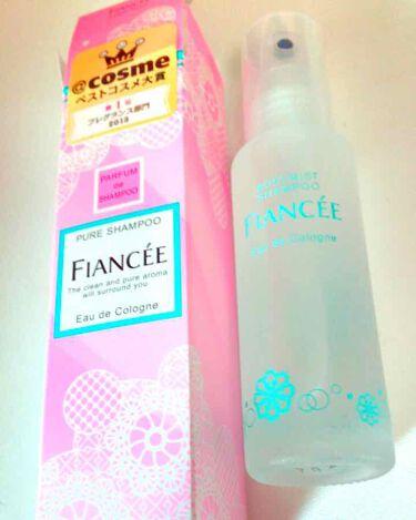 ボディミスト ピュアシャンプーの香り/フィアンセ/香水(レディース)を使ったクチコミ(1枚目)