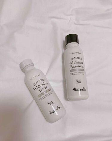 TONYMOLY(トニーモリー/韓国) naturalth goatmilk whitening toner