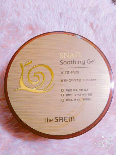 SNAIL Soothing Gel/the SAEM/その他スキンケアを使ったクチコミ(1枚目)