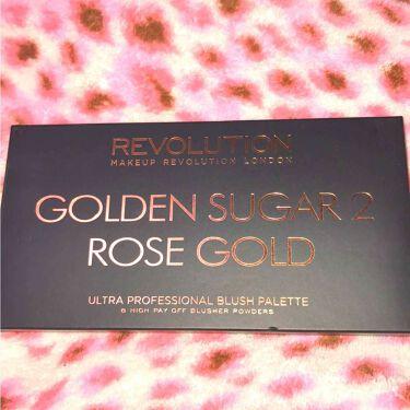 MAKEUP REVOLUTION(メイクアップレボリューション)/アイラブメイクアップ Ultra Blush Palette Golden Sugar
