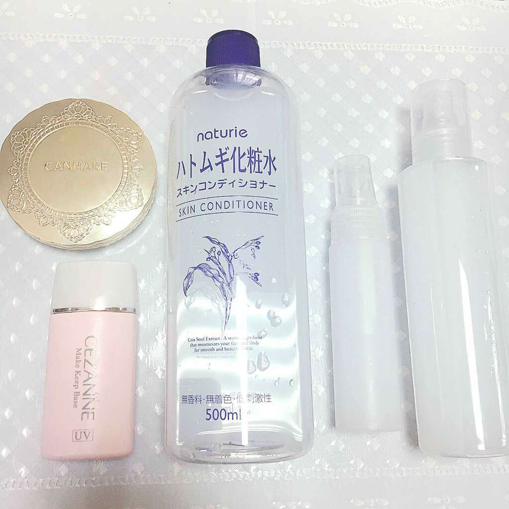 ナチュリエの化粧水 スキンコンディショナー(ハトムギ化粧水)を使ったクチコミ(1枚目)