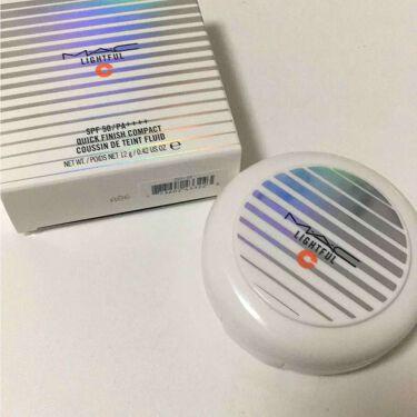 ゆめなさんの「M・A・Cライトフル C SPF 50 クイック フィニッシュ コンパクト<リキッドファンデーション>」を含むクチコミ