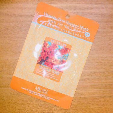 MJケア ビタミンツリー/Mijin cosmetics(韓国)/シートマスク・パックを使ったクチコミ(1枚目)