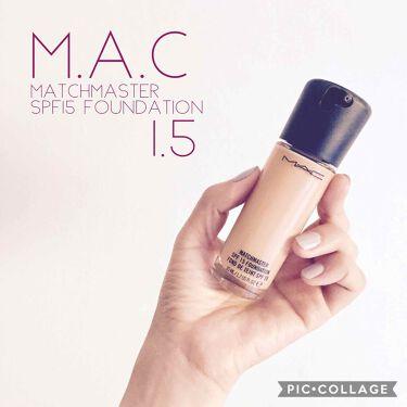M・A・C マッチマスター ファンデーション SPF 15