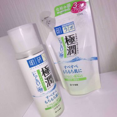 極潤 ヒアルロン液 ライトタイプ/肌ラボ/化粧水を使ったクチコミ(1枚目)