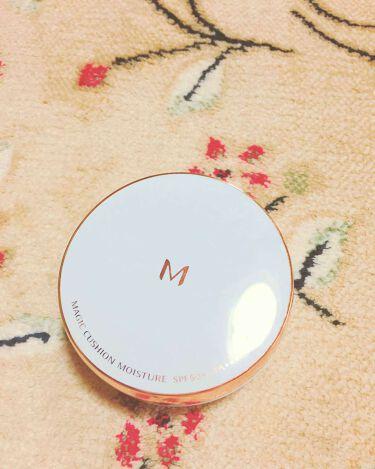 M クッション ファンデーション(モイスチャー)/MISSHA/その他ファンデーションを使ったクチコミ(1枚目)