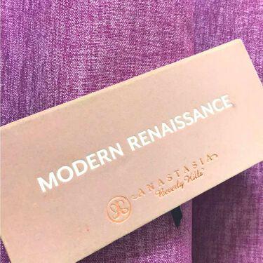 MORDERN RENAISSANCE /アナスタシア(海外)/パウダーアイシャドウを使ったクチコミ(1枚目)