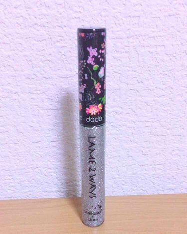 芽愛♡さんの「ドドラメ 2 ウェイズ マスカラプラスライナー<マスカラ>」を含むクチコミ