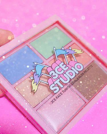 STUDIO FACE TUNING CONCEALER PALETTE/3CE/コンシーラー by ちー