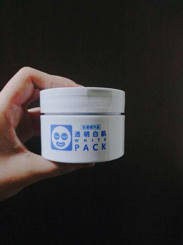 さりさんの「透明白肌(トウメイシロハダ)薬用ホワイトパックN<洗い流すパック・マスク>」を含むクチコミ
