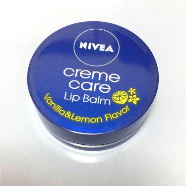 ニベア クリームケア リップバーム バニラ&レモンの香り/ニベア/リップケア・リップクリームを使ったクチコミ(1枚目)