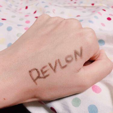 カラーステイ ブロウ ペンシル/REVLON/アイブロウペンシルを使ったクチコミ(3枚目)