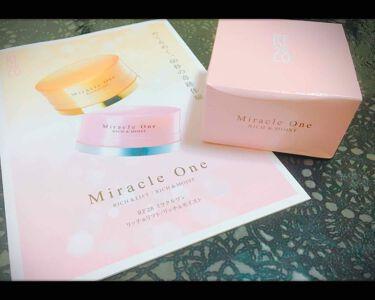 ミラクルワン リッチ&モイスト/RF28/オールインワン化粧品を使ったクチコミ(1枚目)