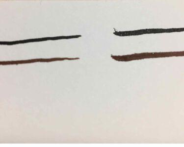 エスポルールカラーアイライナー/DAISO/リキッドアイライナーを使ったクチコミ(2枚目)