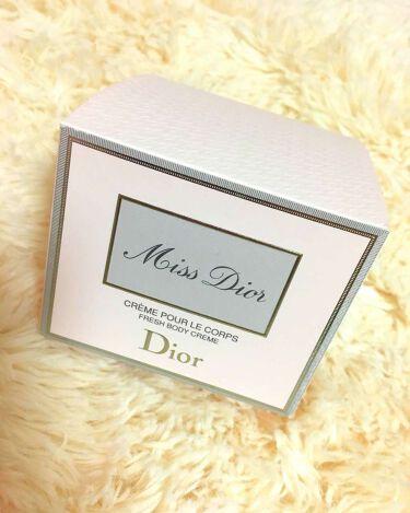 ミス ディオール ボディ クリーム/Dior/ボディクリーム・オイルを使ったクチコミ(2枚目)