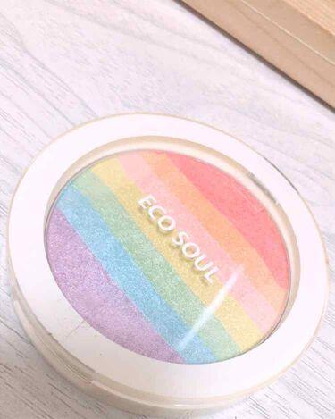 Eco Soul Rainbow Blusher/the SAEM/パウダーチークを使ったクチコミ(1枚目)