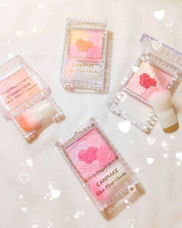 グロウフルールチークス/CANMAKE/パウダーチーク by pink♡♡