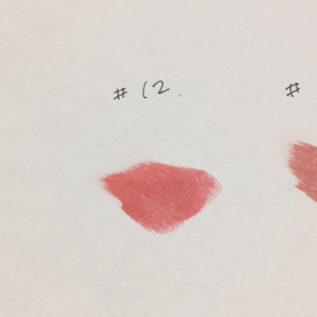 【動画付きクチコミ】ルージュヴォリュプテシャイン12⇨少しオレンジよりの赤の色味でどちらかというと秋冬より春夏の時期に使う色味になりますが私はレブロンのウルトラHDジェルリップカラーの715のブラウンリップを重ねて秋冬使用したいと思っています💄💕43⇨モ...
