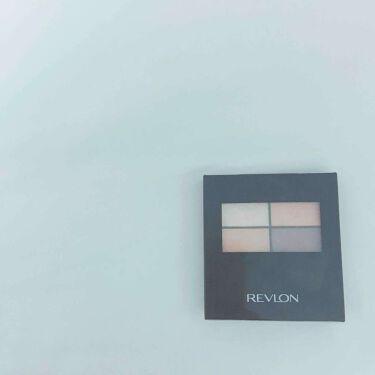 アイグロー シャドウ クワッド N/REVLON/パウダーアイシャドウを使ったクチコミ(1枚目)