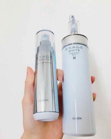 エクサージュホワイト ホワイト ジェネレート/ALBION/美容液を使ったクチコミ(1枚目)