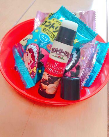 ほのさんの「Pure Smile(ピュアスマイル)デリシャスリップクリーム カントリーマアムの香り<リップケア・リップクリーム>」を含むクチコミ