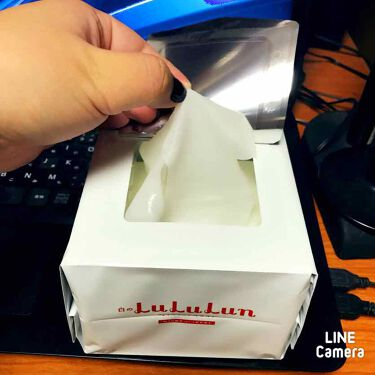 フェイスマスク 白のルルルン(さっぱり透明感タイプ)/ルルルン/シートマスク・パックを使ったクチコミ(3枚目)